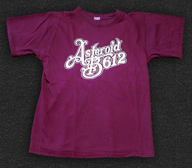 Rock 'n' Roll T-shirt - Asteroid B612 red