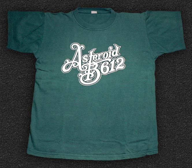 Rock 'n' Roll T-shirt - Asteroid B612 green