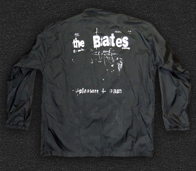 Rock 'n' Roll T-shirt - The Bates-Pleasure + Pain Windbreaker - Back