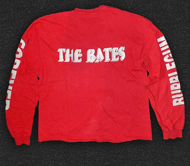 Rock 'n' Roll T-shirt - The Bates - Bubblegum Trash forever - Back