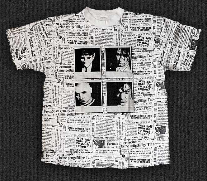Rock 'n' Roll T-shirt - The Bates - Newsletter