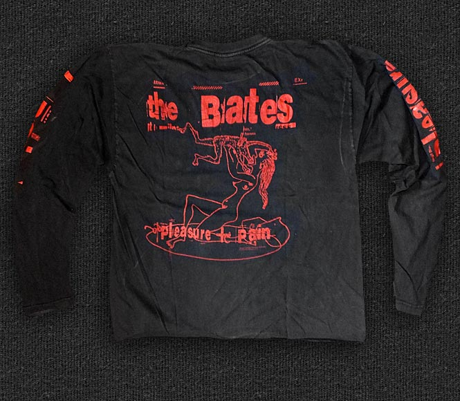Rock 'n' Roll T-shirt - The Bates - Pleasure + Pain - Back