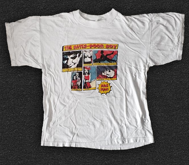 Rock 'n' Roll T-shirt - The Bates - Poor Boy
