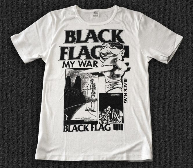 Rock 'n' Roll T-shirt - Black Flag - My War