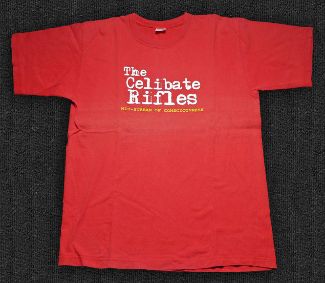Rock 'n' Roll T-shirt - The Celibate Rifles-A Mid-Stream Of Consciousness red