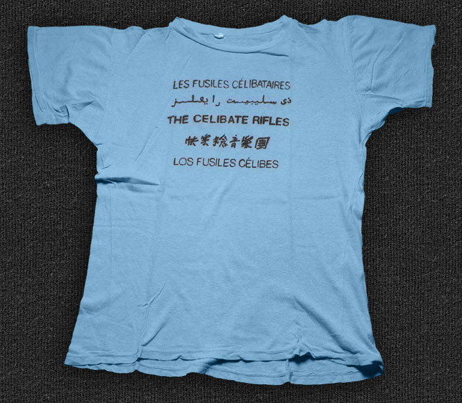 Rock 'n' Roll T-shirt - The Celibate Rifles-5 Languages