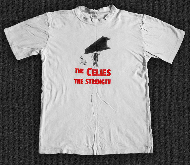 Rock 'n' Roll T-shirt - The Celibate Rifles-The Strength