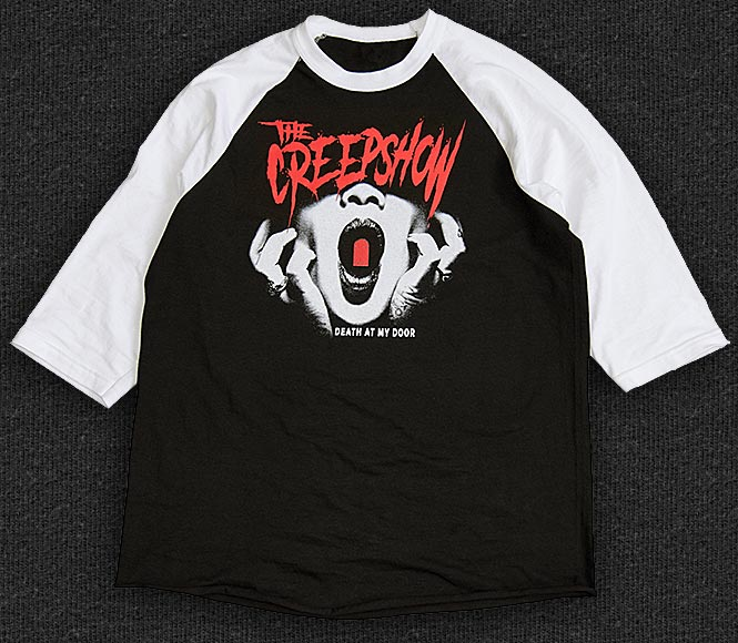 Rock 'n' Roll T-shirt - The Creepshow - Death At My Door