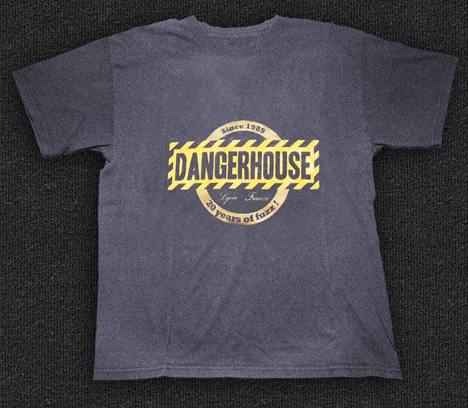 Rock 'n' Roll T-shirt - Dangerhouse
