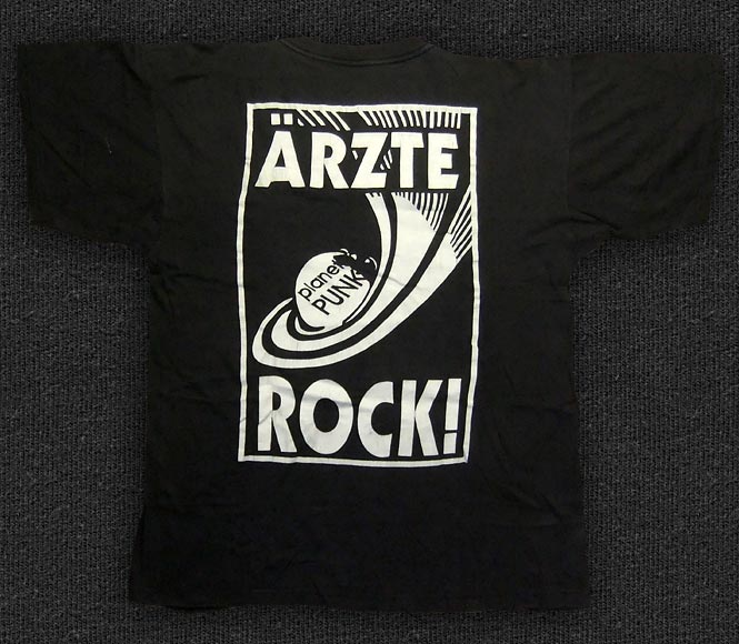Rock 'n' Roll T-shirt - Die Ärzte-Rock! - Back