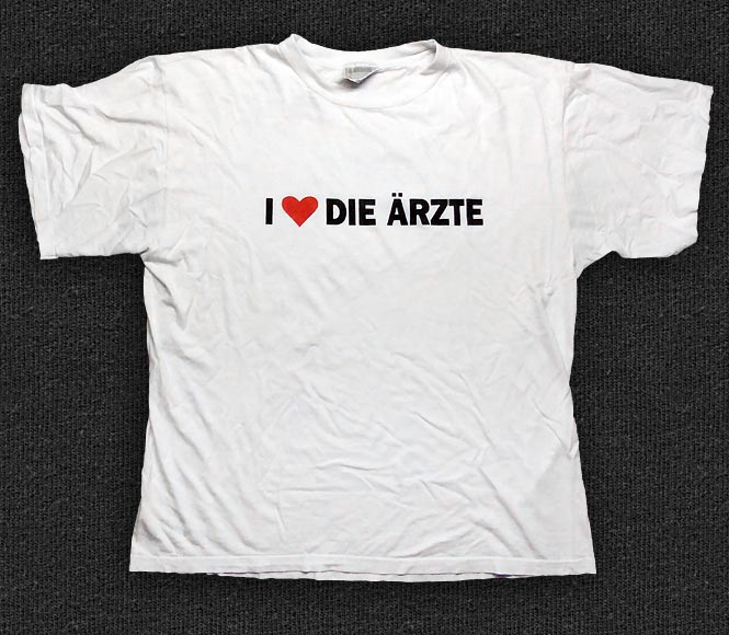 Rock 'n' Roll T-shirt - I love Die Ärzte