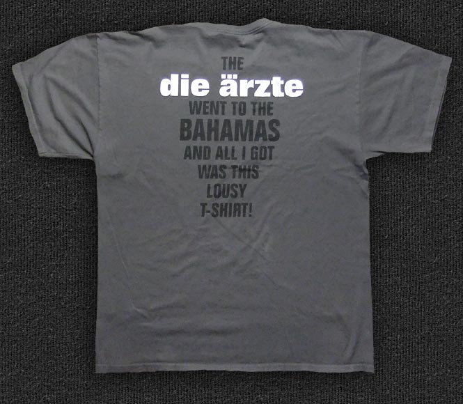 Rock 'n' Roll T-shirt - Die Ärzte-Comeback - Back
