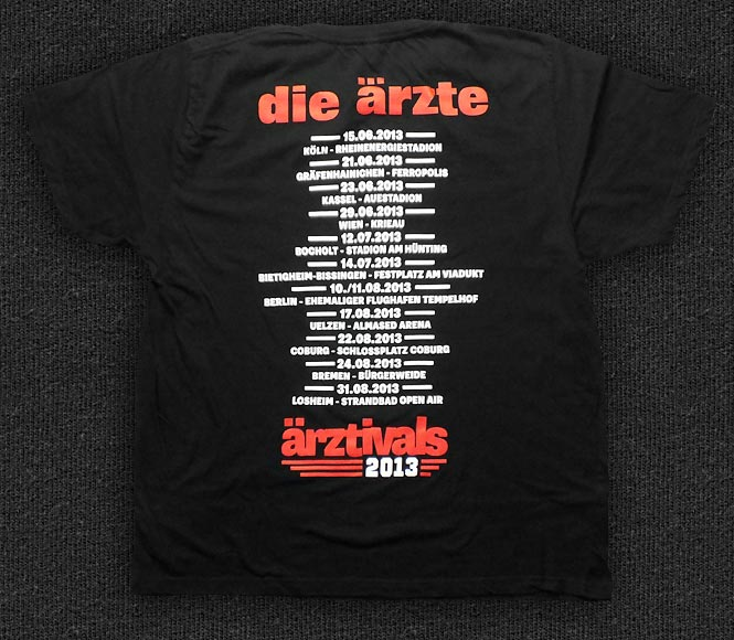 Rock 'n' Roll T-shirt - Die Ärzte-Ä̈rztivals - Back