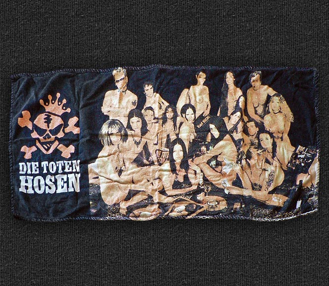 Rock 'n' Roll T-shirt - Die Toten Hosen - Towel