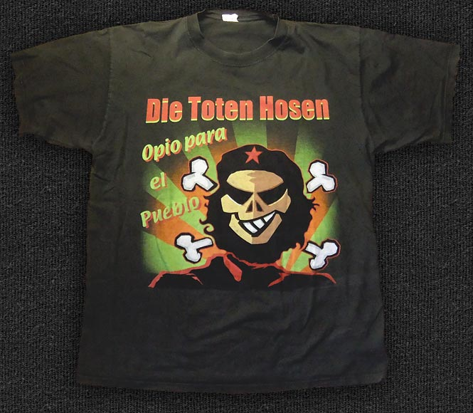 Rock 'n' Roll T-shirt - Die Toten Hosen - Cuba Tour