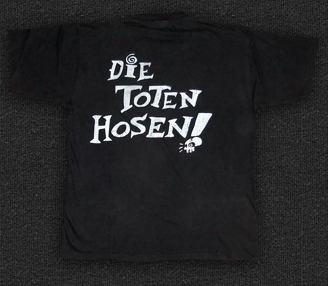 Rock 'n' Roll T-shirt - Die Toten Hosen - Learning English Lesson One - Back