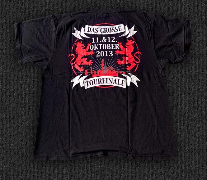 Rock 'n' Roll T-shirt - Die Toten Hosen - Krach der Republik - Back
