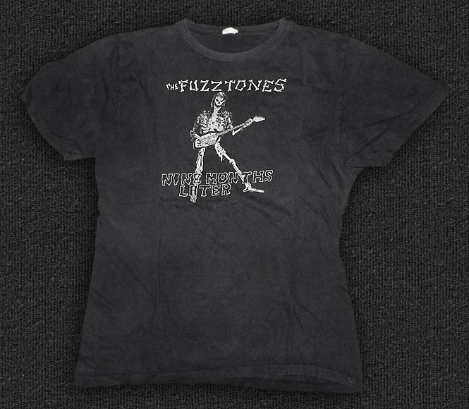 Rock 'n' Roll T-shirt - Fuzztones - Nine Months Later