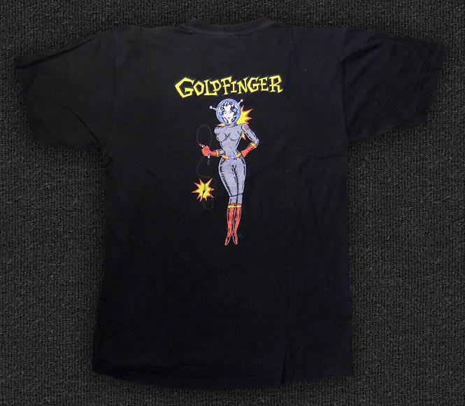 Rock 'n' Roll T-shirt - Goldfinger, 1996 - Back