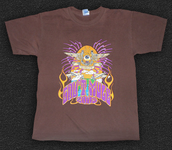 Rock 'n' Roll T-shirt - Gov't Mule - Europe 2005