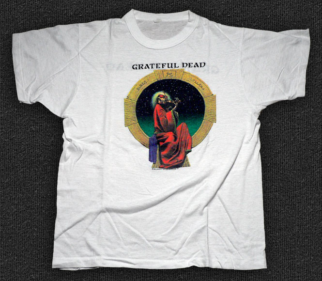 Rock 'n' Roll T-shirt - The Grateful Dead-Blues For Allah