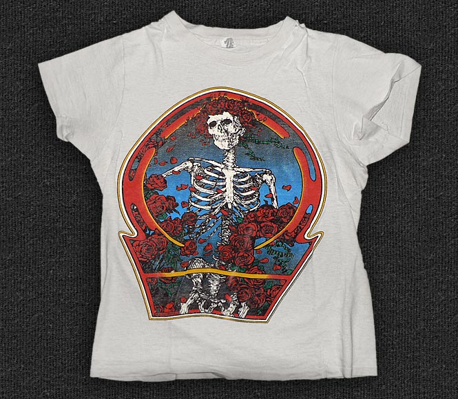Rock 'n' Roll T-shirt - The Grateful Dead - Skull And Roses