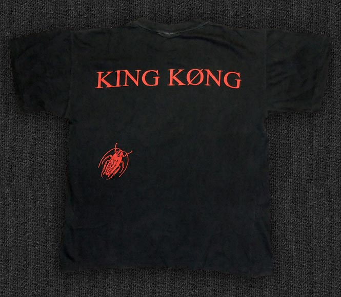 Rock 'n' Roll T-shirt - King Køng - Back