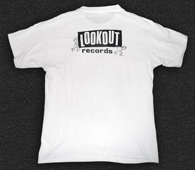 Rock 'n' Roll T-shirt - Lookout Records - Back
