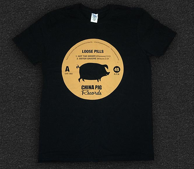 Rock 'n' Roll T-shirt - Loose Pills - Not The Driver 7