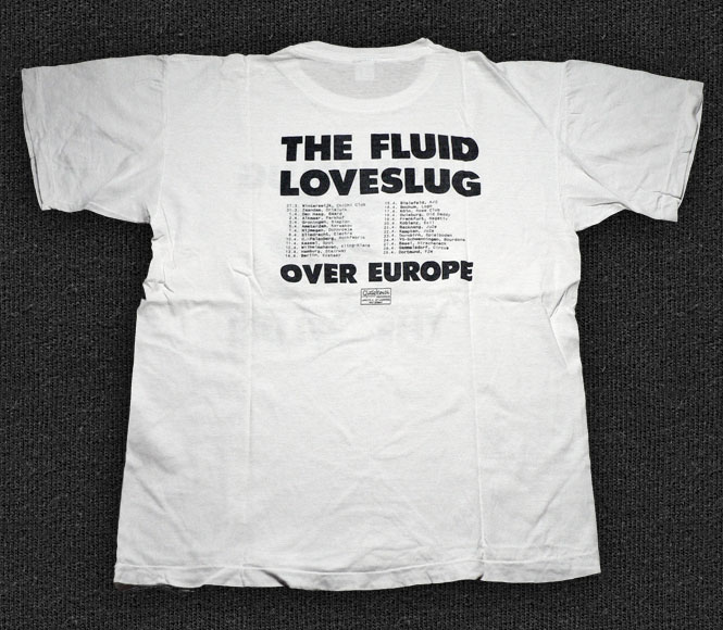 Rock 'n' Roll T-shirt - Loveslug / The Fluid - Back