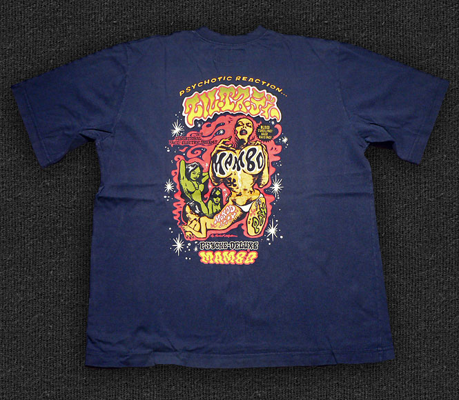 Rock 'n' Roll T-shirt - Mambo-Psychotic Reaction - Back