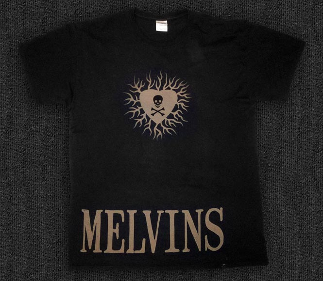 Rock 'n' Roll T-shirt - Melvins-Heart