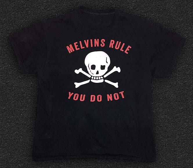 Rock 'n' Roll T-shirt - Melvins-Skull