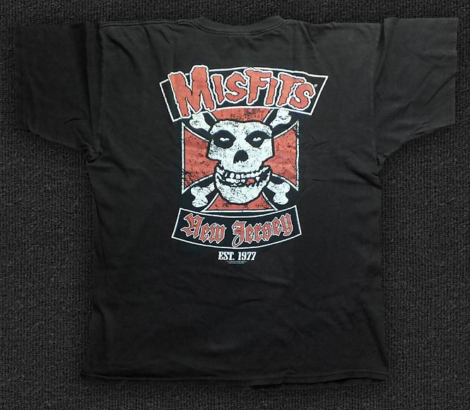 Rock 'n' Roll T-shirt - Misfits - Fiend for Life - Back