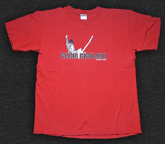Rock 'n' Roll T-shirt - Radio Birdman-Europe 2003