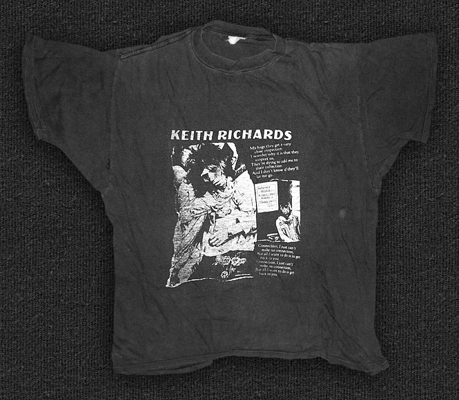 Rock 'n' Roll T-shirt - Keith Richards - Connection