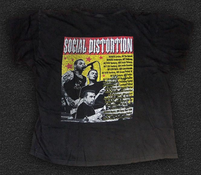 Rock 'n' Roll T-shirt - Social Distortion - Back