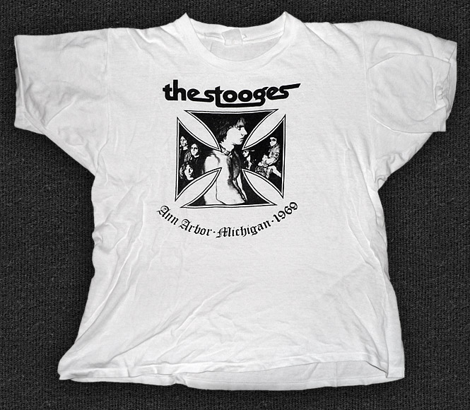 Rock 'n' Roll T-shirt - The Stooges - Ann Arbor