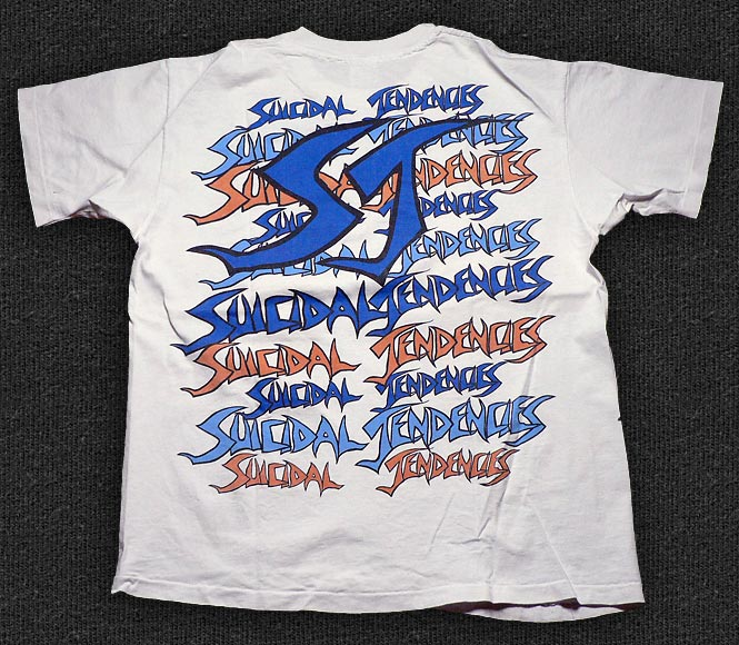 Rock 'n' Roll T-shirt - Suicidal Tendencies-Chair - Back