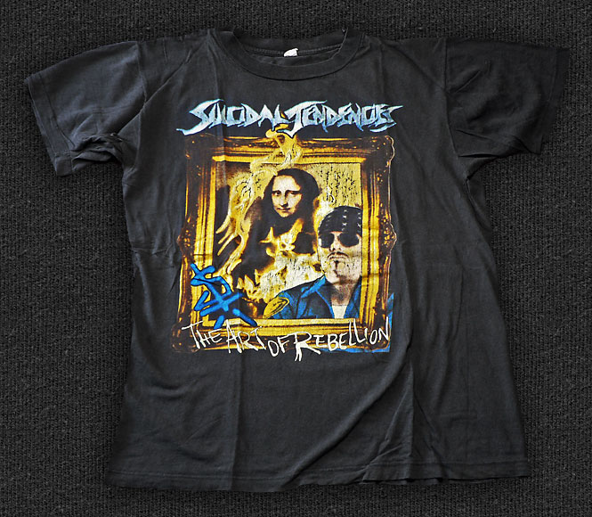 Rock 'n' Roll T-shirt - Suicidal Tendencies-The Art Of Rebellion