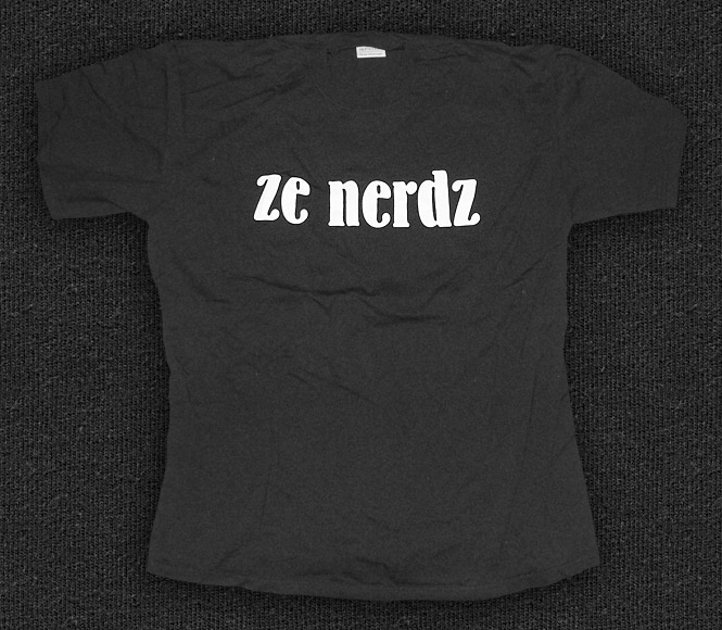 Rock 'n' Roll T-shirt - Ze Nerdz
